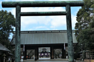 靖国神社の第二鳥居