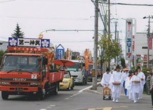 上川神社祭り