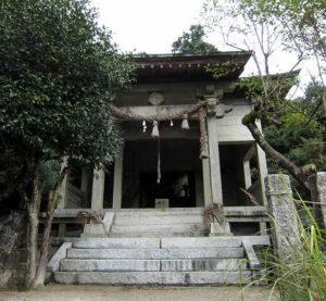 金立神社 上宮